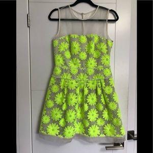 Karen Miller/ Ladies /Size 8/Lime Green Flowers/